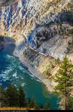 Thompson River canyon, British Columbia