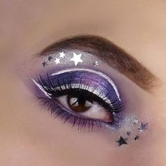 Starry eyed! Makeup by aspiring mua feddonza. She's using GWA lashes