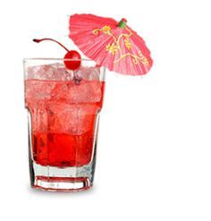 1 carb Shirley Temple:: Sprite Zero- no carbs Fruit Punch Crystal Light- no carbs One cherry- 1 carb