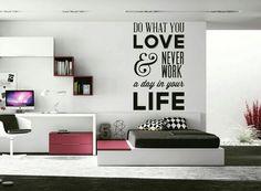 Cod: UG-031. #VinilosDecorativos #sala #Espacios #Vinilos #Vinilos4Home #Habitaciones #frases #frasesenvinilo #prhase #vinilosdecorativosbogota #love #life