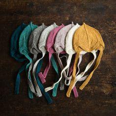 Beautiful alpaca bonnet Grey, Rose, Natural, Brown, Mustard, Lavender, Turqoise…