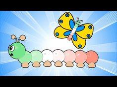Trovi il DVD video, il CD e il LIBRO da colare su www.Bambinicanzoni.it Ciao Bambini, ci siamo!!!! Il Bruco tricolore è un grande amico colorato di tutti i b...