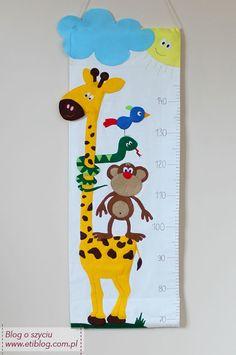 1212e5af35c35 Jak uszyć miarkę do mierzenia wzrostu dla dziecka - tutorial - blog o  szyciu Janome
