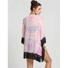 Kimono Style Stylish Lady Women's Fashion Casual 3/4 Sleeve Cardigan Chiffon Blouse Top | cndirect.com