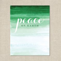 Christmas+Art+Print+/+Ombre+Watercolor+/+by+ChristmasLovelies,+$15.00