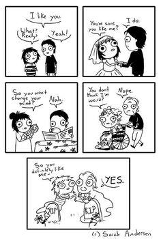 Sarah's Scribbles :: You Like Me?   Tapastic Comics - image 1