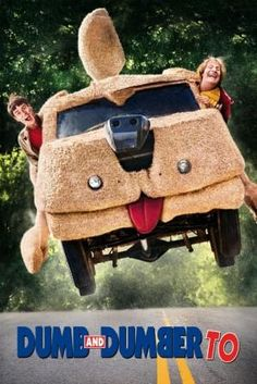 Poster Of Hollywood Film Dumb and Dumber To (2014) In 300MB Compressed Size PC Movie Free Download At all-free-download-4u.com