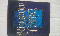 RARE Vintage Kingdom Come Rock Metal jacket Back Patch New Old/Dead stock