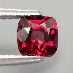 1.01ct Crimson Rhodolite Garnet Rare Crystal, Big Bun, Bun Hair, Rock, Diamond Pattern, Jewelries, Girls Best Friend, Garnet, Heart Ring