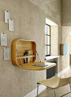 +Ligne Roset / Nubo Sekretär by Gam Fratesi   #desk #smallspace