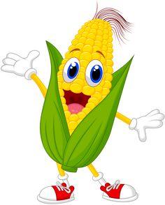 Funny vectors of corn cartoon styles. Vector cartoon, cartoon, corn, funny Spinach is often a leafy Cartoon Cartoon, Cartoon Styles, Cartoon Characters, Fruit Cartoon, Cartoon Ideas, Cute Illustration, Character Illustration, Funny Vegetables, Cartoon Vegetables