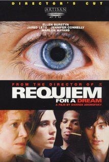 "Requiem for a Dream, 2000. Drama. IMDb Rating: 8.5/10. Metascore: 68/100 (based on 32 reviews from Metacritic.com). ""The drug-induced utopias of four New York's Coney Island individuals are shattered when their addictions become stronger."""