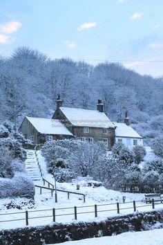 Teapot Hill in winter (Sandsend, Whitby, England) by Glen Kilpatrick