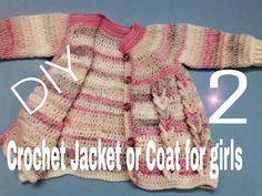 Crochet Patterns Jacket Crochet Coat / Crochet Jacket for all sizes – H …