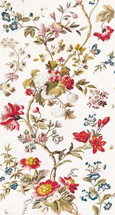 Colony Giamacian wallpaper-magnolia-via Scalamandre