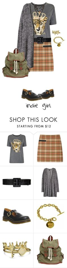 """""""Indie Girl"""" by alynncameron ❤ liked on Polyvore featuring Juicy Couture, Tory Burch, Alice + Olivia, H&M, Dr. Martens, Sí.Sí Design, Bling Jewelry, Wet Seal, women's clothing and women"""