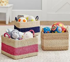 Abaca Basket Collection #pbkids