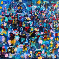 "Saatchi Art Artist Sarah Giannobile; Painting, ""Light Bright"" #art"