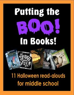 Big kids like storytime, too! Give them time to sit back and listen with some spooky read-alouds for Halloween! Library Themes, Library Activities, Library Books, Library Ideas, Library Displays, Book Displays, Halloween Stories, Halloween Books, Halloween Displays