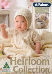 Free pattern knitting and crochet Several nice clothes and blankets Patons 1283 Heirloom 4 ply collection Crochet Baby Dress Free Pattern, Baby Cardigan Knitting Pattern Free, Kids Knitting Patterns, Knit Baby Dress, Knitting For Kids, Baby Patterns, Knitting Ideas, Free Knitting, Sewing Patterns