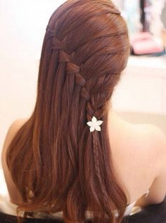 water fall braid- so pretty!