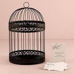 Elegante gabbia in nero