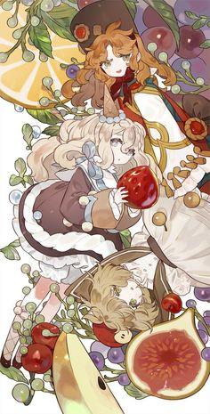 Coonabar x Vacillan x Cherokee Manga Anime, Manga Art, Art And Illustration, Christmas Drawing, Anime Art Girl, Character Design Inspiration, Cute Drawings, Kawaii Anime, Cute Art