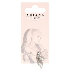 Ariana Grande for Lipsy Chain Drop Earring Pack