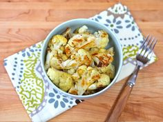 Roasted Cauliflower - one of the best recipes I have found, down to explaining exactly how to cut the cauliflower.  My favorite way to eat cauliflower! --- Visit the following link for more info: http://3weekdiet.actchangetransform.com  --- #diet #losebodyfat #weightlosstipsandtricks #weightlosstips #weightlosstricks #weightlossmotivation