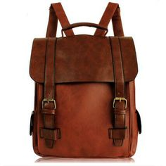Vintage Bag Motorcycle Backpack For Women Europe Style Cool Institute School Bags Free Shipping