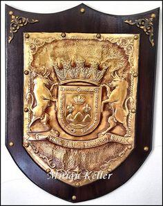 ESTÚDIO   MIRIAN  KELLER    -   Um jeito todo especial de fazer arte no metal ... (Metaloplastia): 111 - BRASÃO DO MUNICÍPIO DE CABROBÓ EM PERNAMBUCO...