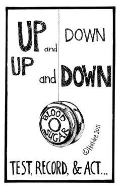 Yo-yo Diabetic - Pen & Ink Illustration