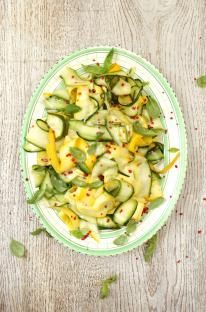 Zucini salad