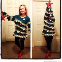 9 best Tacky Christmas outfits images on Pinterest | Fiesta de ...