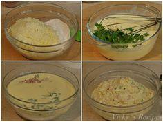 briose-cu-cascaval-si-sunca2 Mozzarella, Grains, Recipes, Food, Meal, Food Recipes, Essen, Rezepte, Hoods