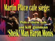 Martin Place cafe siege: Police storm cafe and kill gunman 'Sheik' Man Haron Monis