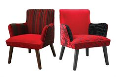 Jimmy Possum occasional chairs = I am in love and WANT one NOW!!!