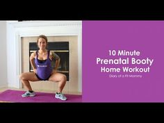 Diary of a Fit Mommy » 15 Minute Prenatal Booty Home Workout