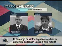El descargo de Víctor Hugo Morales tras la entrevista de Castro a Kicillof