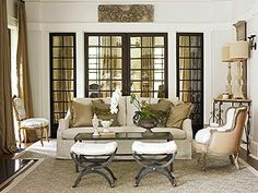 South Shore Decorating Blog: Possible furniture configuration