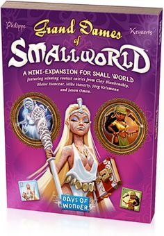 Races & Special Powers Expansions - Small World, the fun, zany, light-hearted civilization boardgame from Days of Wonder | Days of Wonder