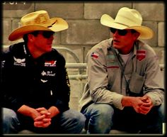 Trevor Brazile and Tuf Cooper, two of my favorite rodeo cowboys