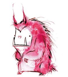 savagely cute creature illustrations and designer toys by artist Emma SanCartier. Cartoon Monsters, Cute Monsters, Illustration Story, Fantasy Illustration, Doodle Monster, Archive Library, Lovely Creatures, Monster Design, Character Design References