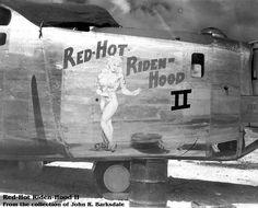 B-24 Liberator - Red-Hot Riden-Hood II