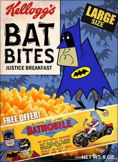 Batman 1966, I Am Batman, Batman Art, Batman Comics, Batman Stuff, Superman, Dc Comics, Cereal Packaging, Nananana Batman