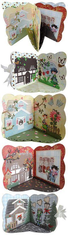 """Mini Carrousel """"Les 4 saisons de la maison"""""""