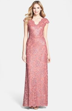 The dress I'll be wearing this weekend for my uncle and aunt's 25th wedding anniversary. Tadashi Shoji