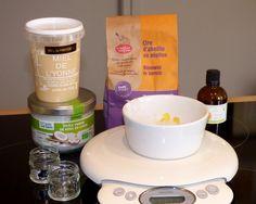 Baume à lèvres maison orange coco miel : vous pouvez cliquer ici pour avoir la recette - Slow Cosmétique - Une semaine à Paris-Forêt