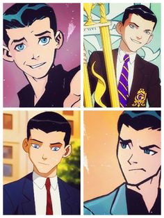 He's so cuuuute!!!♥♡♥♡ #DickGrayson