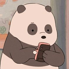 panda icons we bare bears
